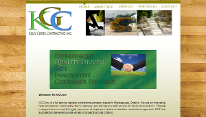 KGC Inc. Web Design