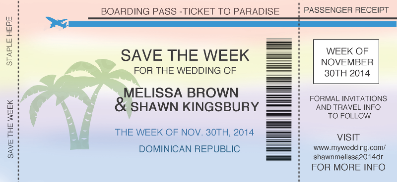 29 perfect Destination Wedding Save The Date Ideas – bravofile.com