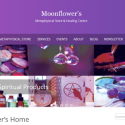 Website for Moonflower's in Stouffville