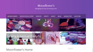 Website for Moonflower's in Stouffville