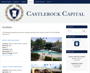 castlerock capital site