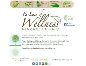 wellness spa pickering website