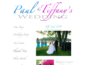 wedding website peterborough
