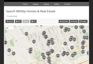 Location aware property maps.